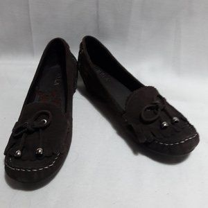 N.Y.L.A Leather Upper Women's Shoes